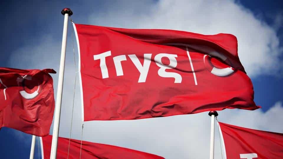 Tryg flag