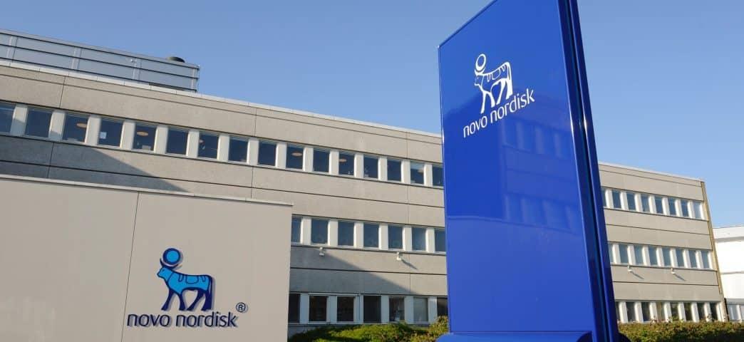 Novo Nordisk udbytte logo