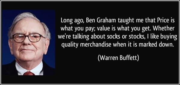 Warren Buffett investering