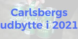 Carlsbergs udbytte i 2021
