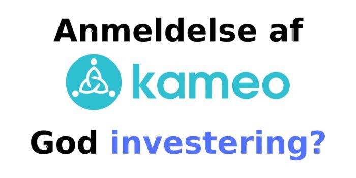 Kameo anmeldelse: En god investering?